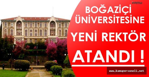 Boğaziçi Üniversitesine Erdoğan Tarafından Yeni Rektör Atandı