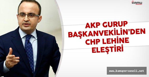 Bülent Turan'dan parlamento kurallarına uymayan CHP lehine öz eleştiri