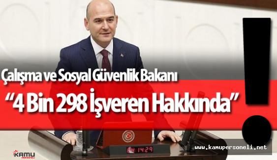 """Çalışma ve Sosyal Güvenlik Bakanı """"İşverenlere 59 Milyon TL İdari Para Cezası Verildi"""""""