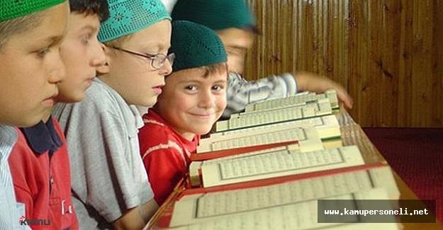Camiler çocuk sesleri ile şenlendi - Yaz Kuran Kursları Başladı