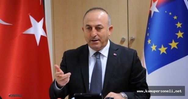 """Çavuşoğlu """"DAEŞ İle Mücadele Edecek Her Ülkeye İncirlik Üssü Açıktır"""""""