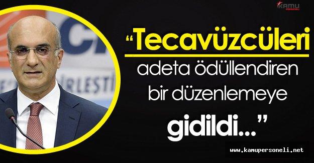 """CHP Genel Başkan Yardımcısı Bingöl:"""" Bir Sapıklığın Tezahürüdür O Önerge!"""""""