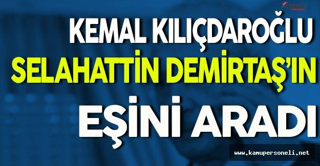 CHP Lideri Demirtaş'ın Eşini Aradı