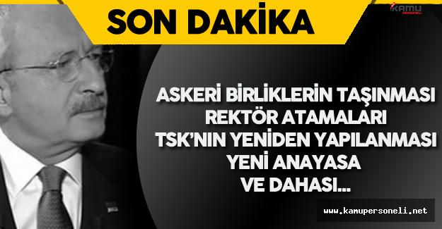 """CHP Lideri Kılıçdaroğlu: """" O Zaman Darbecilerden Ne Farkınız Kalır?"""""""