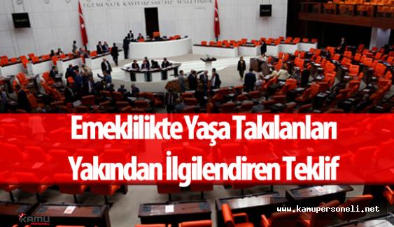 """CHP Milletvekili :""""Gelin Hep Birlikte Emeklilikte Yaşa Takılanların Sorununu Çözelim"""""""