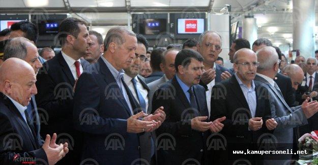 Cumhurbaşkanı Atatürk Havalimanında İncelemelerde Bulundu