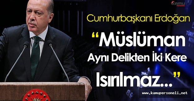"""Cumhurbaşkanı Erdoğan: """" Polis Akademisi Kapıları Onlara Kapalı!"""""""