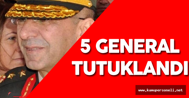 Darbe Girişimi Son Dakika Gelişmesi: 5 General Tutuklandı