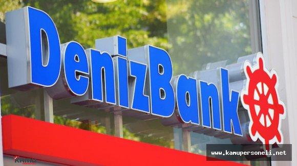 DenizBank'ın Yılın İlk Yarısında Kârı 762 Milyon