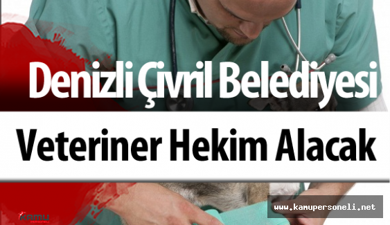 Denizli Çivril Belediyesi Veteriner Hekim Alacak