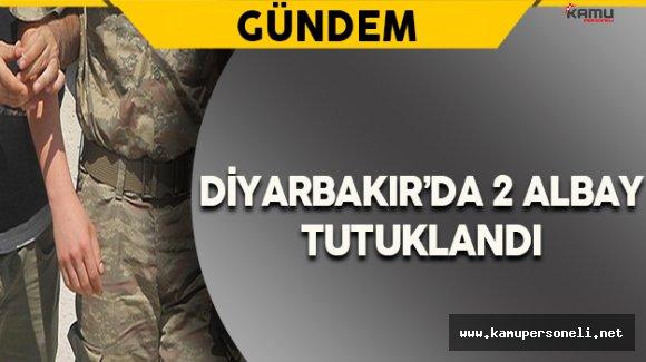 Diyarbakır'da 2 Rütbeli Asker Tutuklandı
