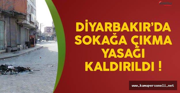 Diyarbakır'da Sokak Yasağı Kaldırıldı