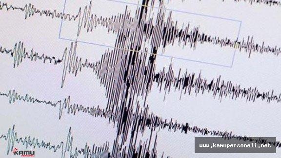 Ege Denizinde Art Arda Deprem Meydana Geldi