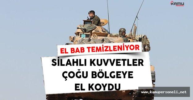 El Bab Türk Silahlı Kuvvetlerince Temizlenmeye Devam Ediyor