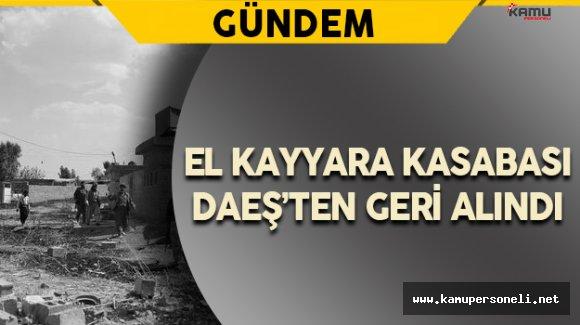El Kayyara Kasabası DAEŞ'ten Geri Alındı