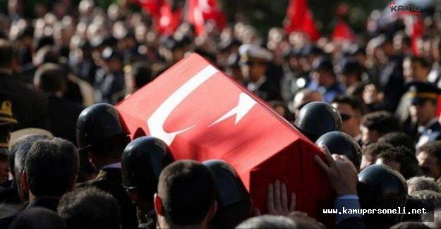 Elazığ'da Şehitler için Tören Düzenlendi