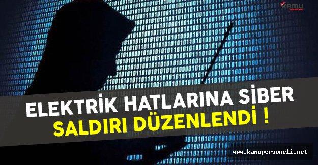 Elektrik Hatlarına Siber Saldırılar Düzenlendi