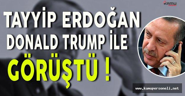 Erdoğan ABD Başkanı Trump İle Görüştü