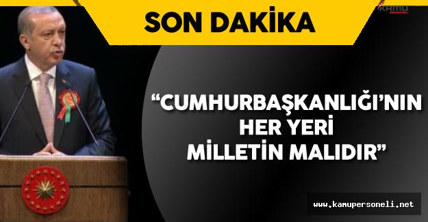"""Erdoğan :"""" Bu Ülke Sanıldığı Gibi 570 Bin Kişilik Değil! """""""