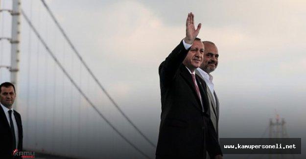 """Erdoğan: """" Türkiye 14 Yılda Bir Ulaşım Devri Yaratmıştır """""""