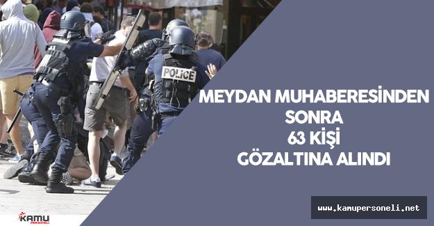 EURO 2016 'da Yaşanan Olaylar Nedeniyle 63 Kişi Gözaltına Alındı