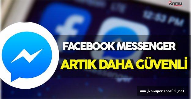 Facebook Messenger Yeni Güncellemesiyle Artık Daha Güvenli