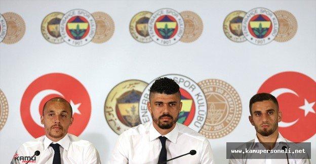 Fenerbaçe Chahechouhe, Fabiano ve Ramazan'la Sözleşme İmzaladı