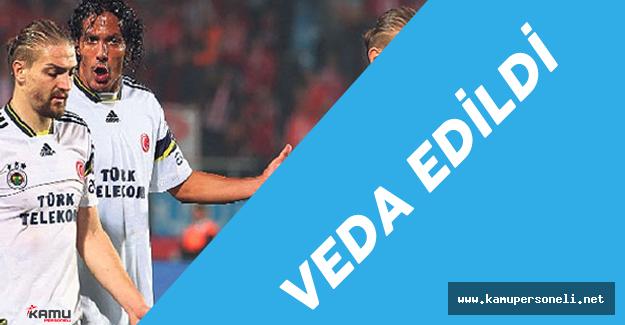 Fenerbahçe Caner Erkin ve Bruno Alves'e Veda Etti