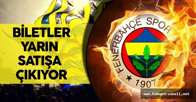 Fenerbahçe Feyenoord Maçı Bilet Fiyatları Belli Oldu