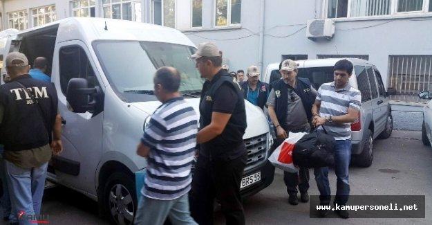 FETÖ Soruşturması Kapsamında 19 Polis Tutuklandı
