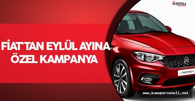 Fiat'tan Eylül Ayına Özel Kampanya