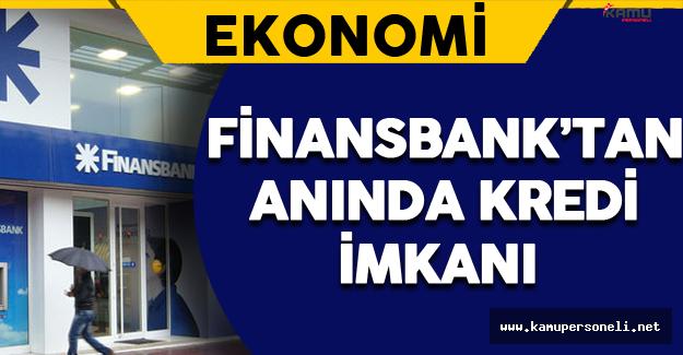 Finansbak'tan Anında Kredi İmkanı