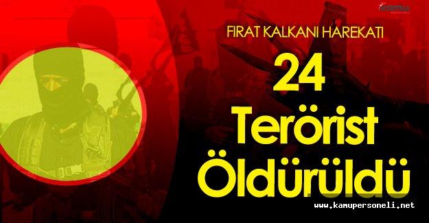 Fırat Kalkanı Harekatı '24 DAEŞ Militanı Öldürüldü'