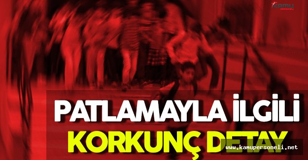 FLAŞ! İstanbul'daki Patlama ile İlgili Korkunç Detay ! 10 Dakika Sonra Meydana Gelseydi...