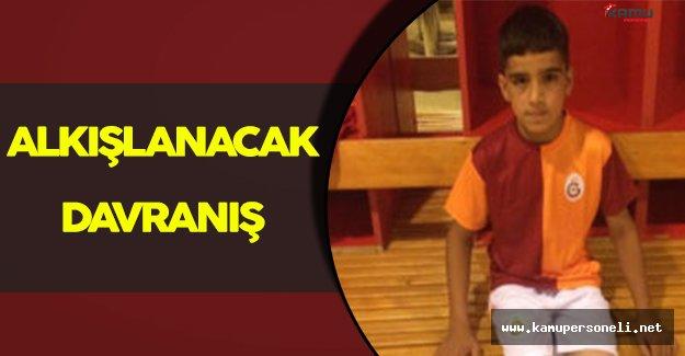 Galatasaray' dan Alkışlanacak Davranış