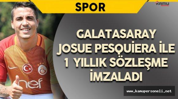 Galatasaray Josue'yi Renklerine Kattı