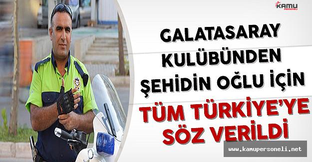 Galatasaray Kulübünden İzmir Şehidi Fethi Sekin'in Oğlu İçin Tüm Türkiye'ye Söz