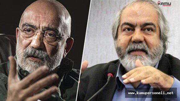 Gazeteci Ahmet Altan ile Kardeşi Mehmet Altan Gözaltında