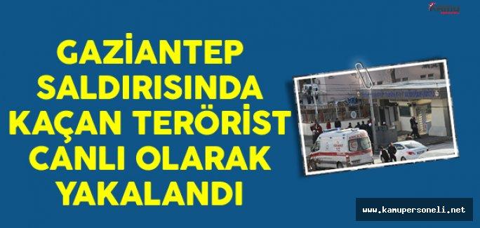Gaziantep Saldırısında Kaçan Terörist Canlı Olarak Yakalandı