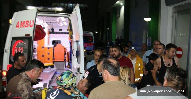 Giresun'da Polis Aracına Silahlı ve Bombalı Saldırı: 2 Yaralı