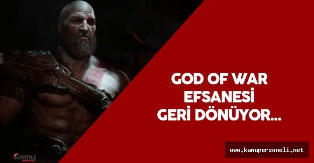 God Of War PS4 Oynanış Fragmanı Yayımlandı - Efsane Geri Dönüyor