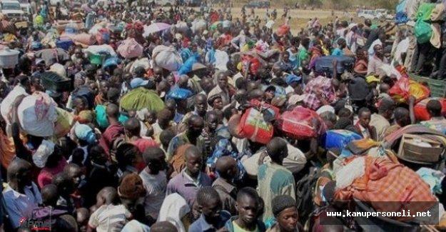 Güney Sudan'daki Çatışmalar Sonucu 36 Bin Kişi Yerinden Edildi