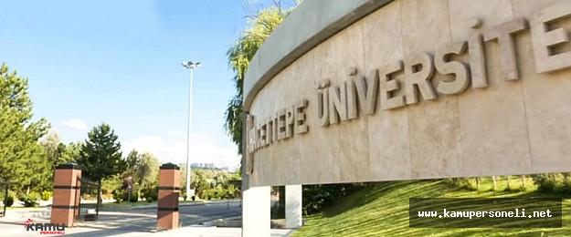 Hacettepe Üniversitesi 33 Sözleşmeli Personel Alım Başvuruları Devam Ediyor