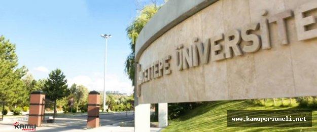 Hacettepe Üniversitesi 33 Sözleşmeli Personel Alıyor