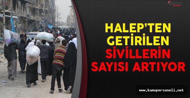 Halep'ten Getirilen Sivillerin Sayısı Artıyor