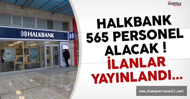 Halkbank 565 Personel Alım İlanını Yayınladı