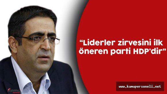 """HDP Grup Başkanvekili İdris Baluken: """"Liderler Zirvesini İlk Öneren HDP'dir"""""""