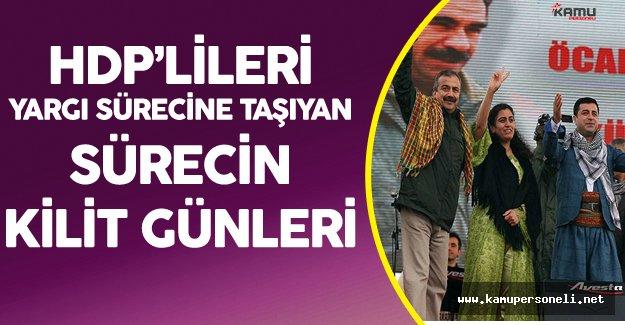 HDP'lileri Yargı Sürecine Taşıyan Konuşmalar ve Eylemler