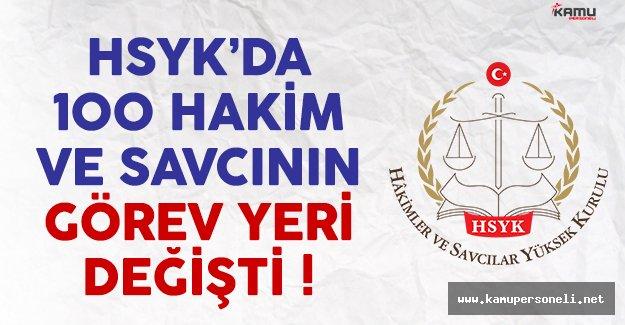 HSYK'da 100 hakim ve savcının görev yeri değişti