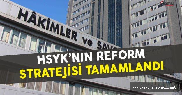 HSYK'nın Yargı Reformu Stratejisi Çalışmaları Sonlandı